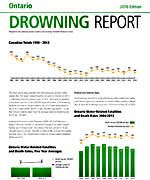 2015 Drowning report Cover