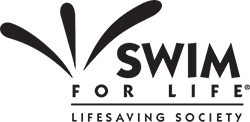 Swim for Life logo BW thumb