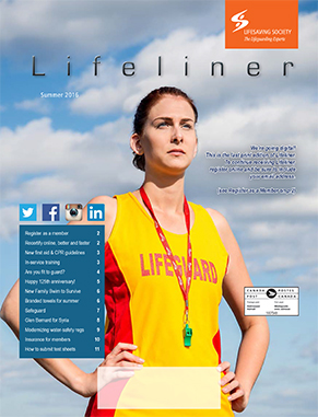 Lifeliner Summer 2016 Cover