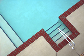 Pool from overhead