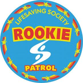 Swim Patrol crest - Rookie